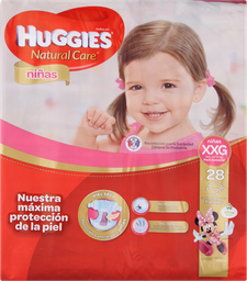 Infantil Huggies Nina.Seman.Xxgx28