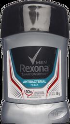 Desodorante Rexona Men Antibacterial Fresh en barra