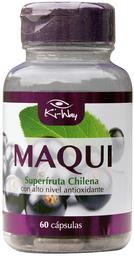 Vitaminas Y Minerales Ki-Way Maqui Cap.60
