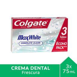 Pastas Dentales Colgate E/Pack Pas.Mx W.3