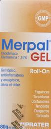 Antiinflamatorios Merpal Gel R-On 1,16% 80G