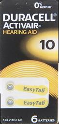 Accesorios De Oido Duracell.Pila 10 Act.Hearx6