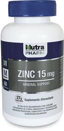 Vitaminas Y Minerales Zinc Comp.15Mg.60
