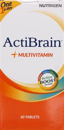Vitaminas Y Minerales Actibrain Multivit.Tab.60