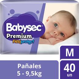 Infantil Babysec Prem.Flexip.M X40