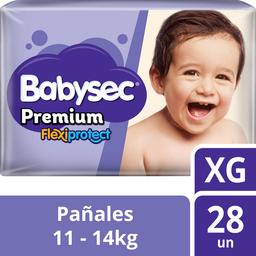 Infantil Babysec Prem.Flexi.Xg X28