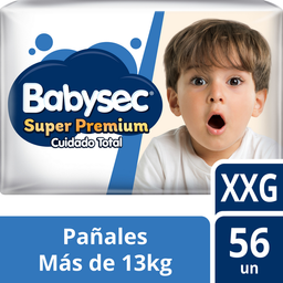 Infantil Babysec Sup.Prem.Xxg X56