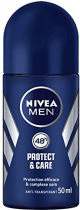 Desodorante Nivea Men Protect&Care Roll On 50 mL