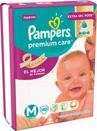 Infantil Pampers Pr.Care E/S Mx40