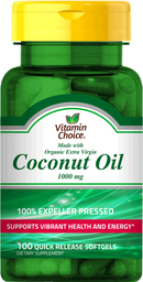 Deporte Y Dieta Vc Coco.Oil Cap.1000Mg100