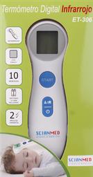 Accesorios Dolor Fiebre Scianmed Termometro Digital.et-306