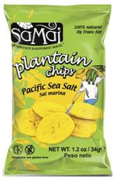 Alimentos Y Snacks Samai Chips Plata.Sal.34G
