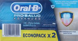 Pastas Dentales Oral-B Pros.Pas.Adva.66X2
