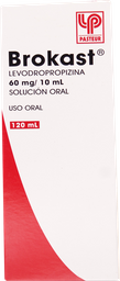 Antitusivos Y Antisepticos Bucales Brokast Jbe 60Mg/10Ml 120 Ml