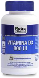 Vitamina D3 Vitaminas Y Minerales Np.Vit.D3 Com.800Ui.100