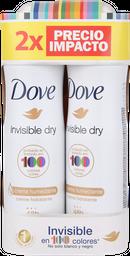 Pack Desodorante Dove Mujer Invisible Dry 48H Proteccion