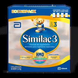 Formulas Similac 3 Pvo.350Gr X4