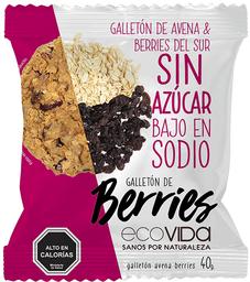 Alimentos Y Snacks Ecovi.Berries Gallet.40G