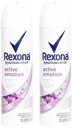 Pack Desodorante Rexona mujer Active Emotion 2 unidades