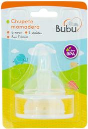 Chupetes Bubu Chup.Mam.Bo/St +6Mx2