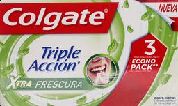 Pastas Dentales Colgate E/Pack Pas.Xt.Fr3