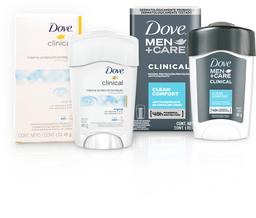 2 U Desodorante Clinical Men + Care Dove