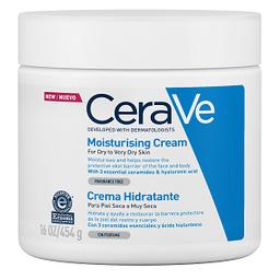 Cerave Crema Hidratante Piel Seca A Muy Seca Sin Perfume 454g