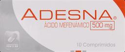 Dolor Y Fiebre Adesna Com.500Mg.10