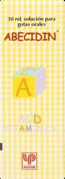 Vitaminas Abecidin-Acd Gotas.30Ml.