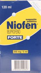 Dolor Y Fiebre Niofen Forte Suspension 200Mg.120M