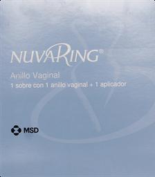 Anticonceptivos Nuvaring Anillo Vaginal. X1