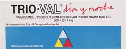 Trio-Val Dia/Noc Com 15+5