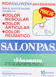 Antiinflamatorios Salonpas Parche 10