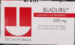Antiespasmodicos Hombre Bladuril Gra.200Mg.20