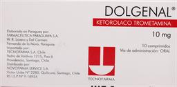 Dolor Y Fiebre Dolgenal Com.10Mg.10