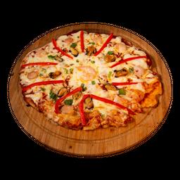 Pizza Mediana Black Island