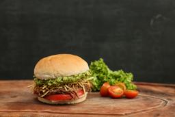 Sándwich de Plateada Desmechada