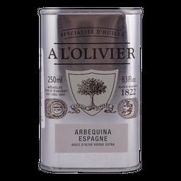 Aceite Oliva Extra Virgen Arbeq A L'Olivier 250mL
