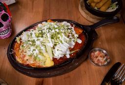 Enchilada de Pollo (3 uni)