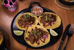 Taco Costilla de Cerdo BBQ