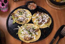 Tacos de Lomo y Queso