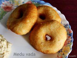 Medhu Vada (3 piezas)