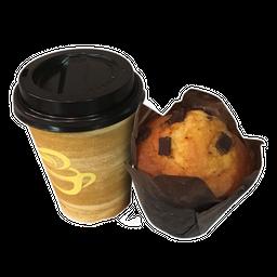 Café Americano + Muffin
