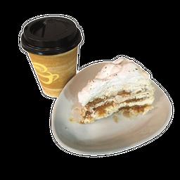 Café Americano + Torta