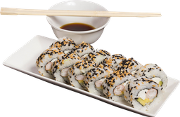 7. California Ebi Tempura