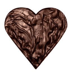 Corazon de Chocolate Bitter Almendras