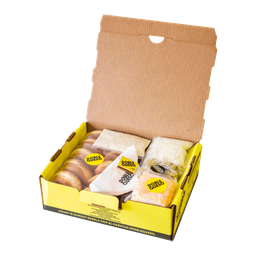 Caja Doble Queso (Para preparar en Casa)