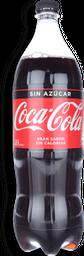 Bebida Coca Cola Zero, 1,5 L (No Retor.)