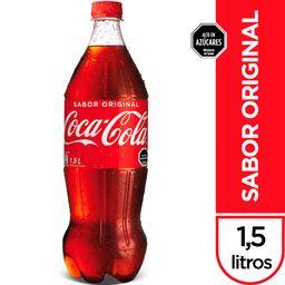 Bebida Coca Cola, 1,5 L (No Retor.)