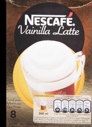 Nescafé Cafe Vainilla Latte 8 Sobres 20 3 G C U